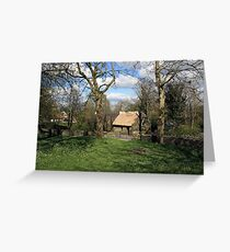 Bunratty cottage Greeting Card