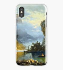 Indians spear fishing iPhone Case/Skin