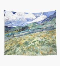 Landscape from Saint-Remy Wall Tapestry