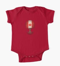 Tree of Life with Canadian Flag One Piece - Short Sleeve