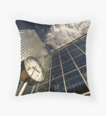 Because Time is Money Throw Pillow