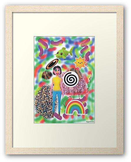 2306 - Bright Colorful Worldviews von tigerthilo