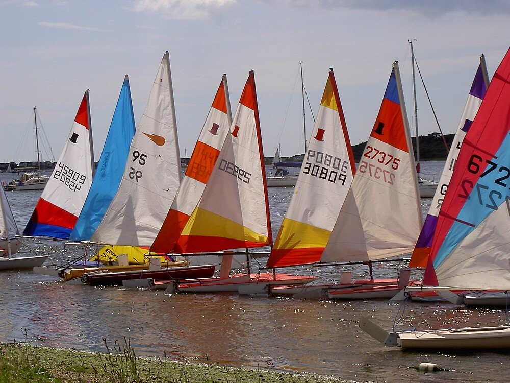 Colourful sails by Shapwickian