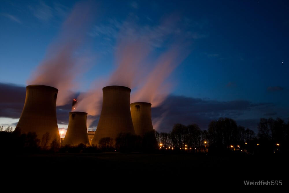 Drax Power Station by Weirdfish695