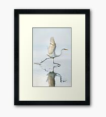 Lift-off Framed Print