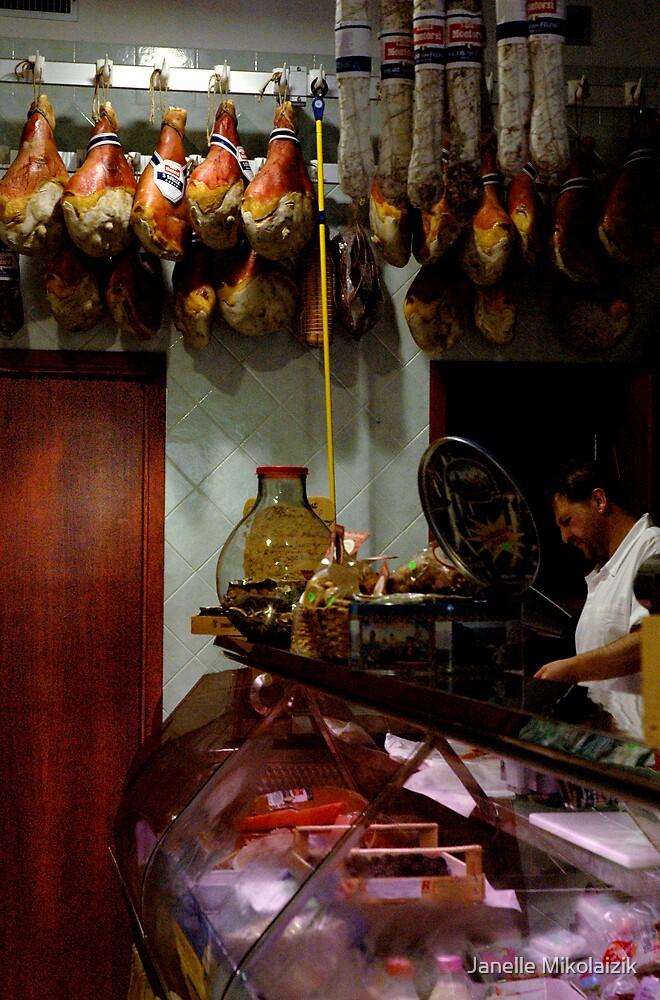 Meat Shop by Janelle Mikolaizik