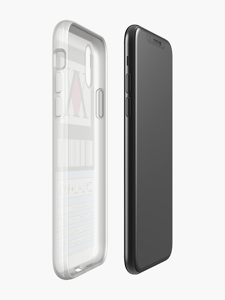 Alternate view of .Hunter License. iPhone Case & Cover