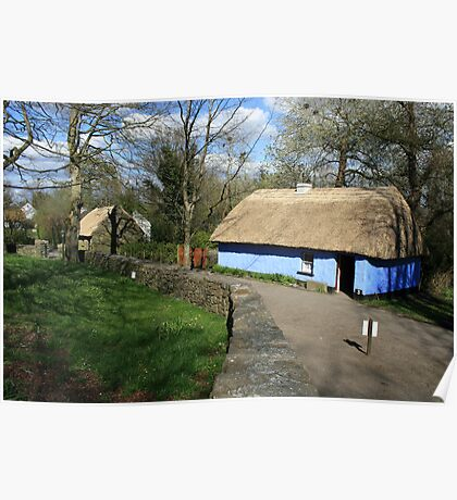 Bunratty thatched cottage Poster