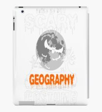 This is my Scary Geography Costume iPad Case/Skin