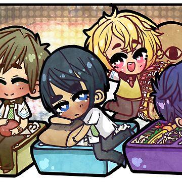 Free: Bento Boxes by raelcsART