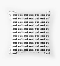 Oui | French Throw Pillow