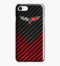 Corvette carbon weave iPhone Case/Skin