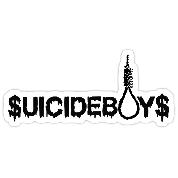 Quot Suicide Boys Quot Stickers By Mahoneey Redbubble
