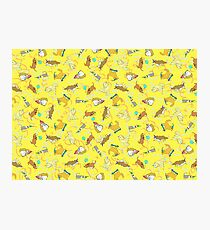 Party Dogs Pattern Photographic Print