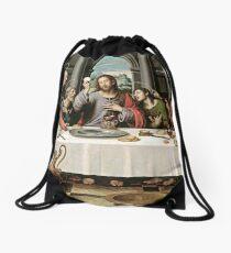 The Last Supper Drawstring Bag