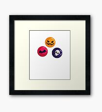 Halloween Candies Framed Print