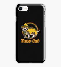 Taco cat iPhone Case/Skin