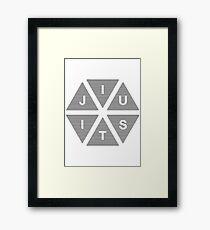 Jiu Jitsu Framed Print
