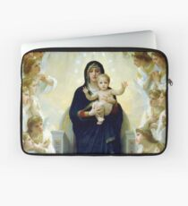 The Virgin With Angels Laptop Sleeve