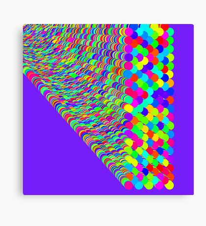 Random colors Canvas Print