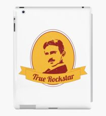 Nikola Tesla - Inventor - True Rockstar iPad Case/Skin