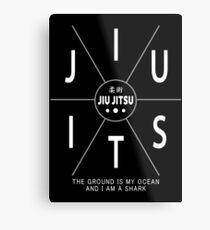 Jiu Jitsu - The Ground Is My Ocean And I Am A Shark Metal Print
