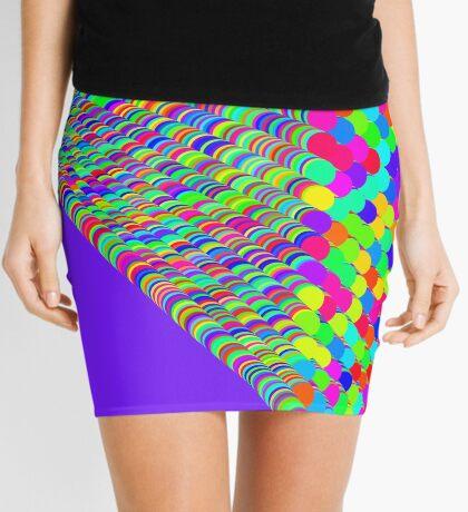 Random colors Mini Skirt