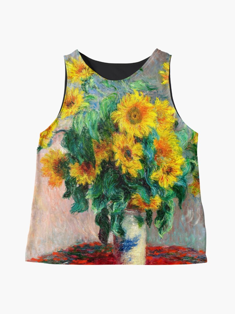 Alternate view of Bouquet of Sunflowers Sleeveless Top