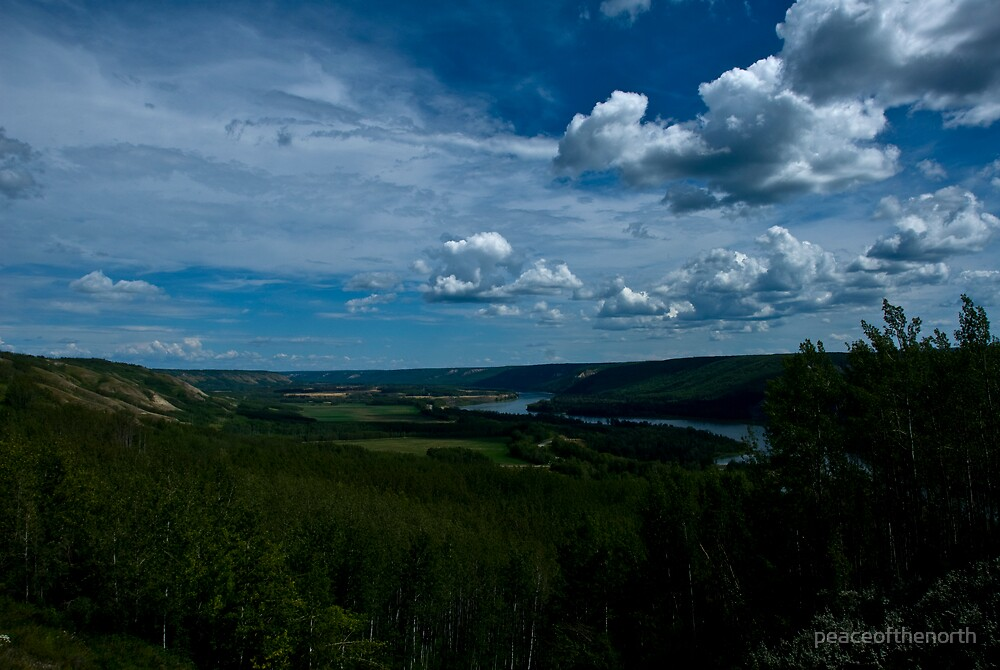 Peace River  by peaceofthenorth