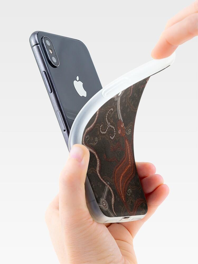 Alternative Ansicht von 3 Billabongs - Aborigine Styled Art iPhone-Hüllen & Cover