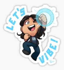 Chibi Cisco Ramon Sticker