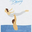 Dirty Dancing Alternative Minimalist Movie Poster by A Deniz Akerman