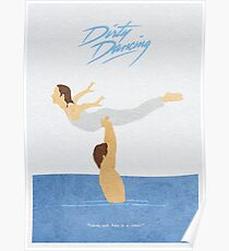 Dirty Dancing Alternative Minimalist Movie Poster Poster