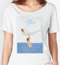 Dirty Dancing Alternative Minimalist Movie Poster Women's Relaxed Fit T-Shirt