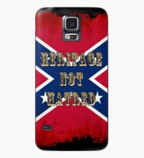 Heritage, Not Hatred - Confederate Flag Case/Skin for Samsung Galaxy