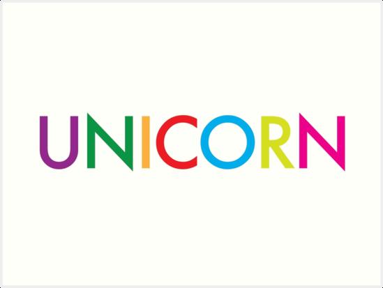 unicorn word