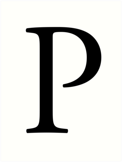 P, Pee, Alphabet, Letter, Papa, Peter, A to Z, 16th Letter of