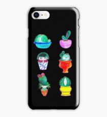 cute cacti iPhone Case/Skin