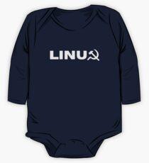 Communist Linux Tee One Piece - Long Sleeve