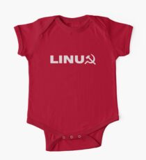 Communist Linux Tee Kids Clothes
