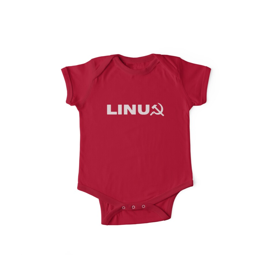 Communist Linux Tee by peted27