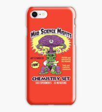 MAD SCIENCE MISFITS iPhone Case/Skin