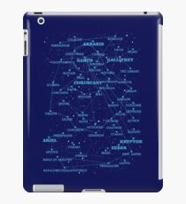 Sci-fi star map iPad Case/Skin