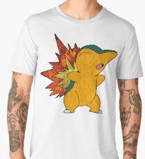Fire Cyndaquil Men's Premium T-Shirt