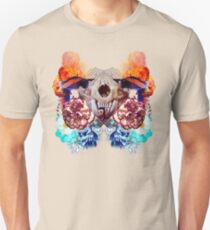 Toothy Feline Skull Destroys Crazy Bobby Cops After Midnight T-Shirt