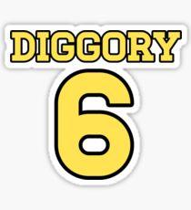 DIGGORY 6 Sticker