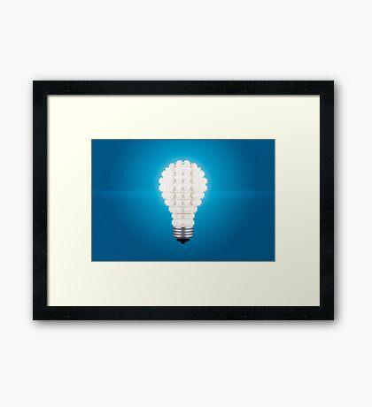 Here's an Idea! Framed Print