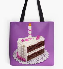 Let Them Build Cake Tote Bag
