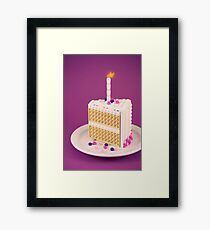 It's My Birthday Framed Print