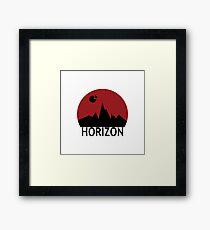 Horizon Framed Print